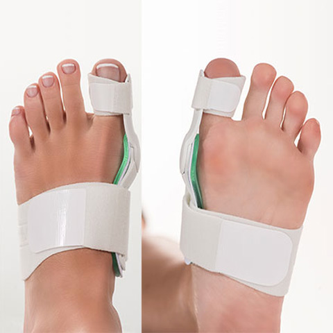 Bunion Aid Splint Overhead and Bottom View