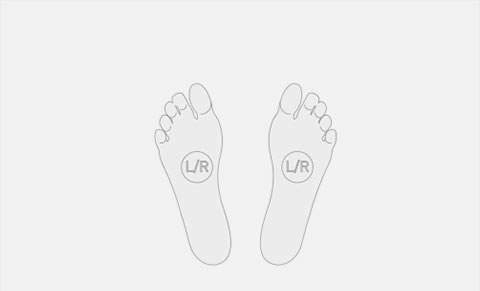 foot diagram detail